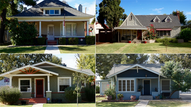 Several types of architectures will be featured in the historic tour. (Source: City of Mesa)