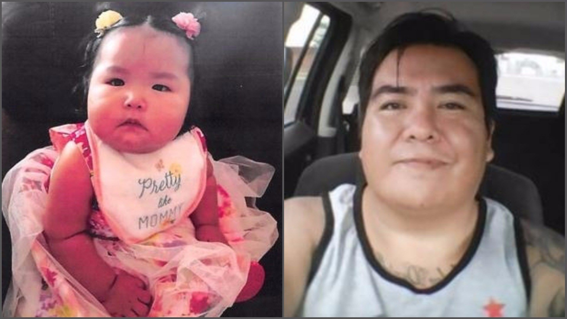 Police believe Delilah Nelson was taken by her father, Shawn Nelson. (Source: Navajo Police Department)