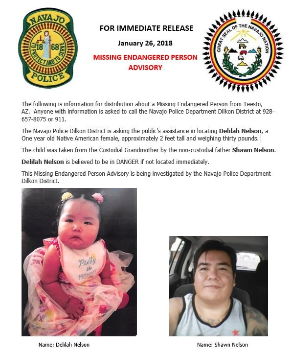(Source: Navajo Police Department)