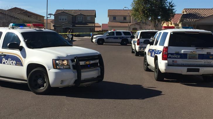 Two men found shot dead at Phoenix salvage yard; suspect arrested
