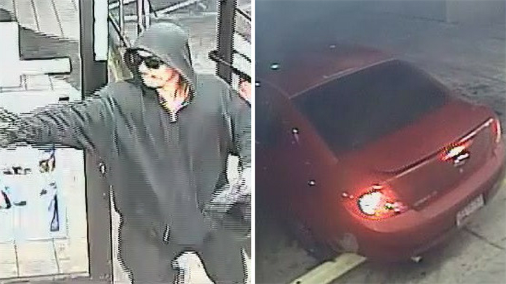 Police are looking for this suspect in an armed robbery in Phoenix. (Source: Silent Witness)