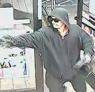 The suspect walked into the Circle K on Van Buren Streetnear 20th Street and pulled out a weapon to take cash and cigarettes.(Source: Silent Witness)