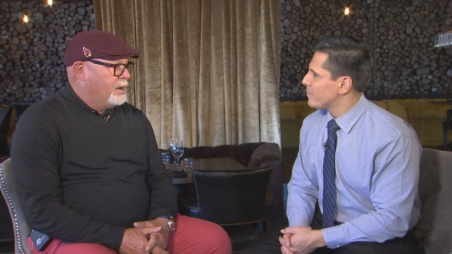 Former Arizona Cardinals head coach Bruce Arians sat down with Good Morning Arizona's Javier Soto and discussed what's next for him. (Source: 3TV/CBS 5)