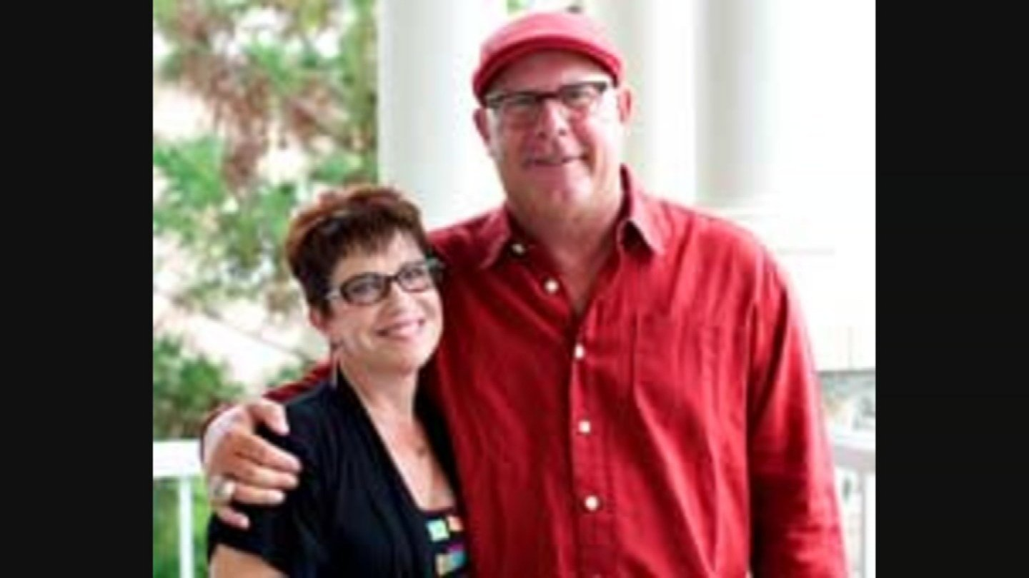 Bruce Arians pictured with wife Christine. (Source: Arians family)