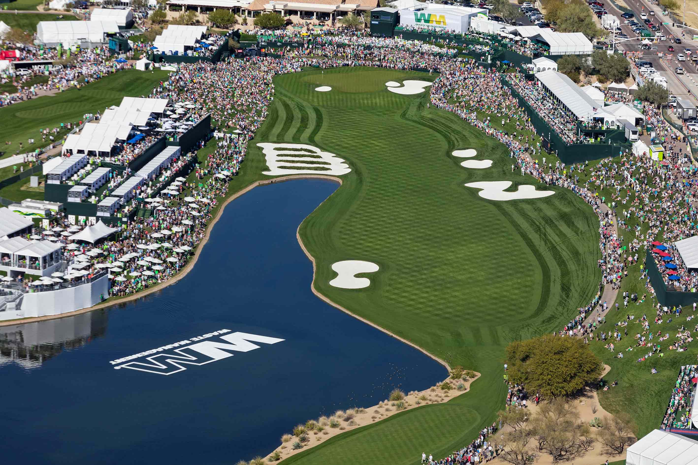 18th hole at TPC: Source: WMPhoenixOpen.com
