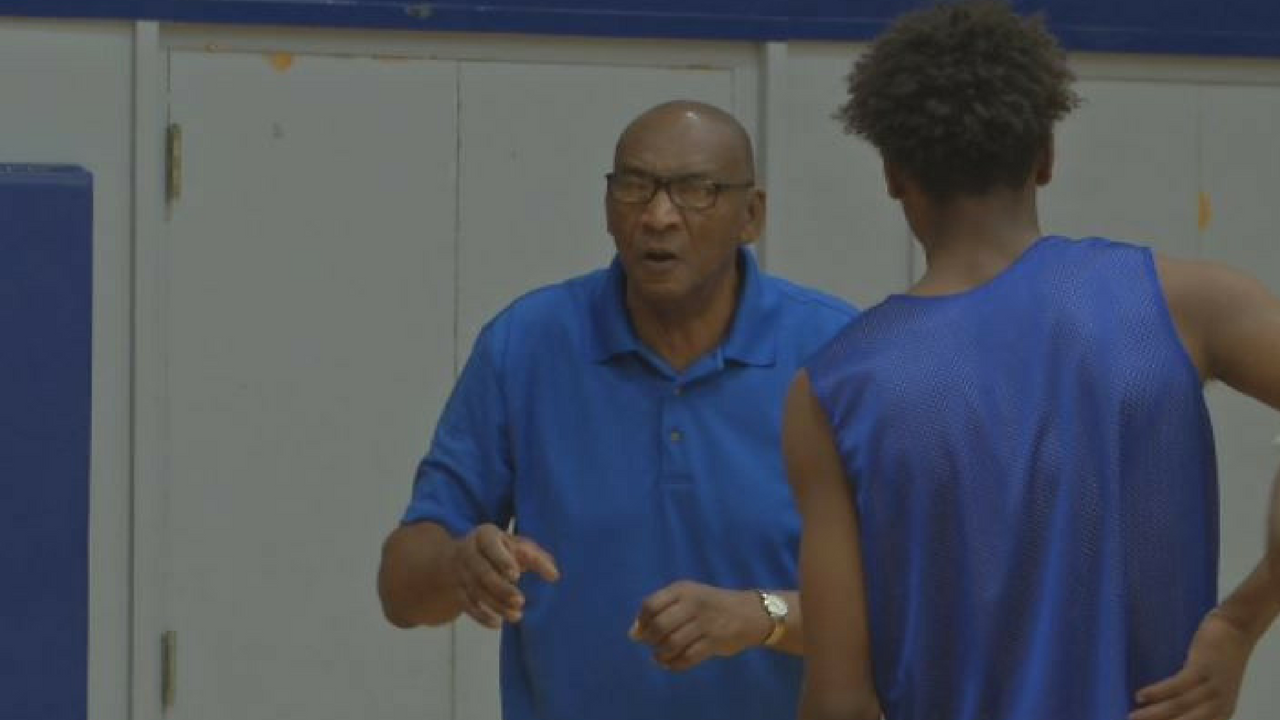 Argie Rhymes has seen many great players come through Carl Hayden. This season he's coaching his grandsons. (Source: 3TV/CBS 5)