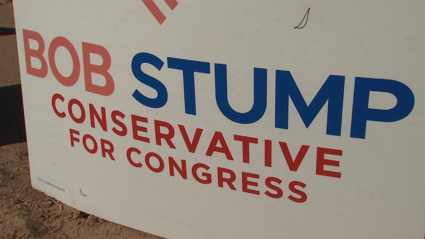 There's a verbal battle over who can use the name of Bob Stump. (Source: 3TV/CBS 5)