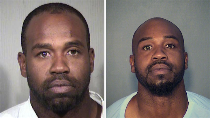 Mugshots of Cleophus Cooksey. MCSO picture on the left, DOC picture on the right. (Source: Maricopa County Sheriff's Office/Department of Corrections)