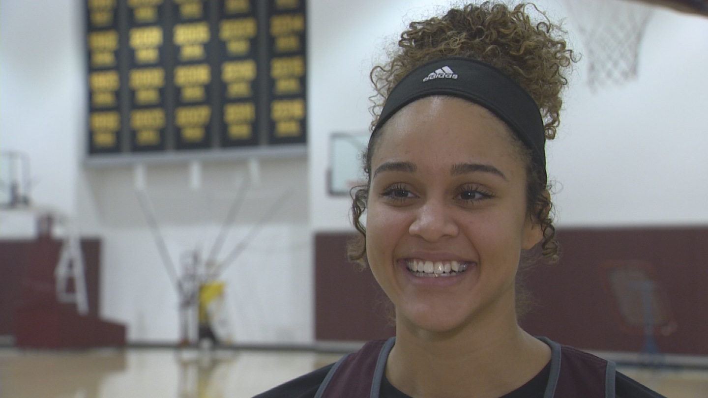 The Sun Devils are led by forward Kianna Ibis, who has still not fully recovered from a knee injury suffered in high school. (Source: 3TV/CBS 5)