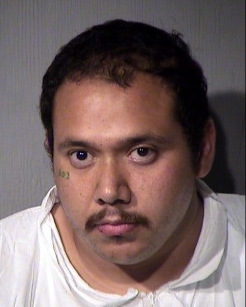 Mug shot of Manuel Orejel, 26. (Source: Maricopa County Sheriff's Office)