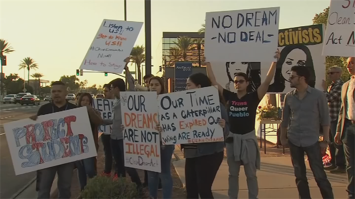 Promise Arizona has been pushing for a clean DREAM Act. (Source: 3TV/CBS 5)