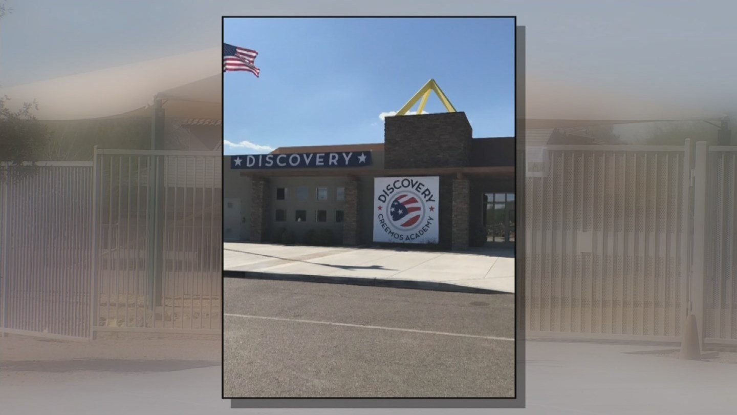 Bradley Creemos Academy in Goodyear. (Source: 3TV/CBS 5)