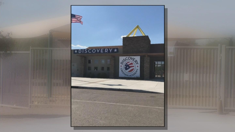 Bradley Creemos Academy in Goodyear. (Source: 3TV/CBS 5)
