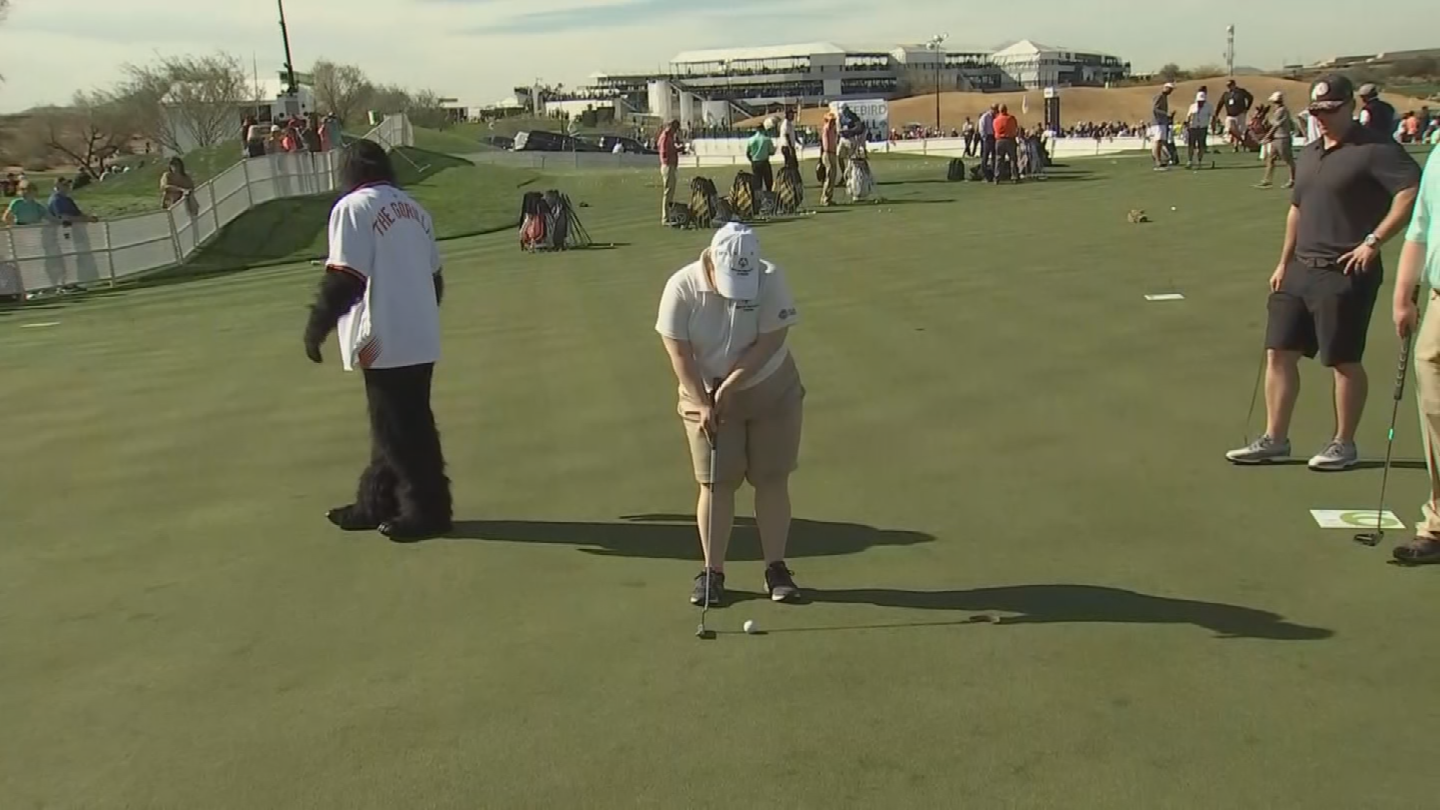 There was also a celebrity putt-off that benefited the Special Olympics. (Source: 3TV/CBS 5)