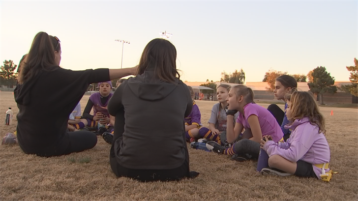 However, in the northwest part of town, there is a good chance there is an all-girls team working out alongside the boys. (Source: 3TV/CBS 5)