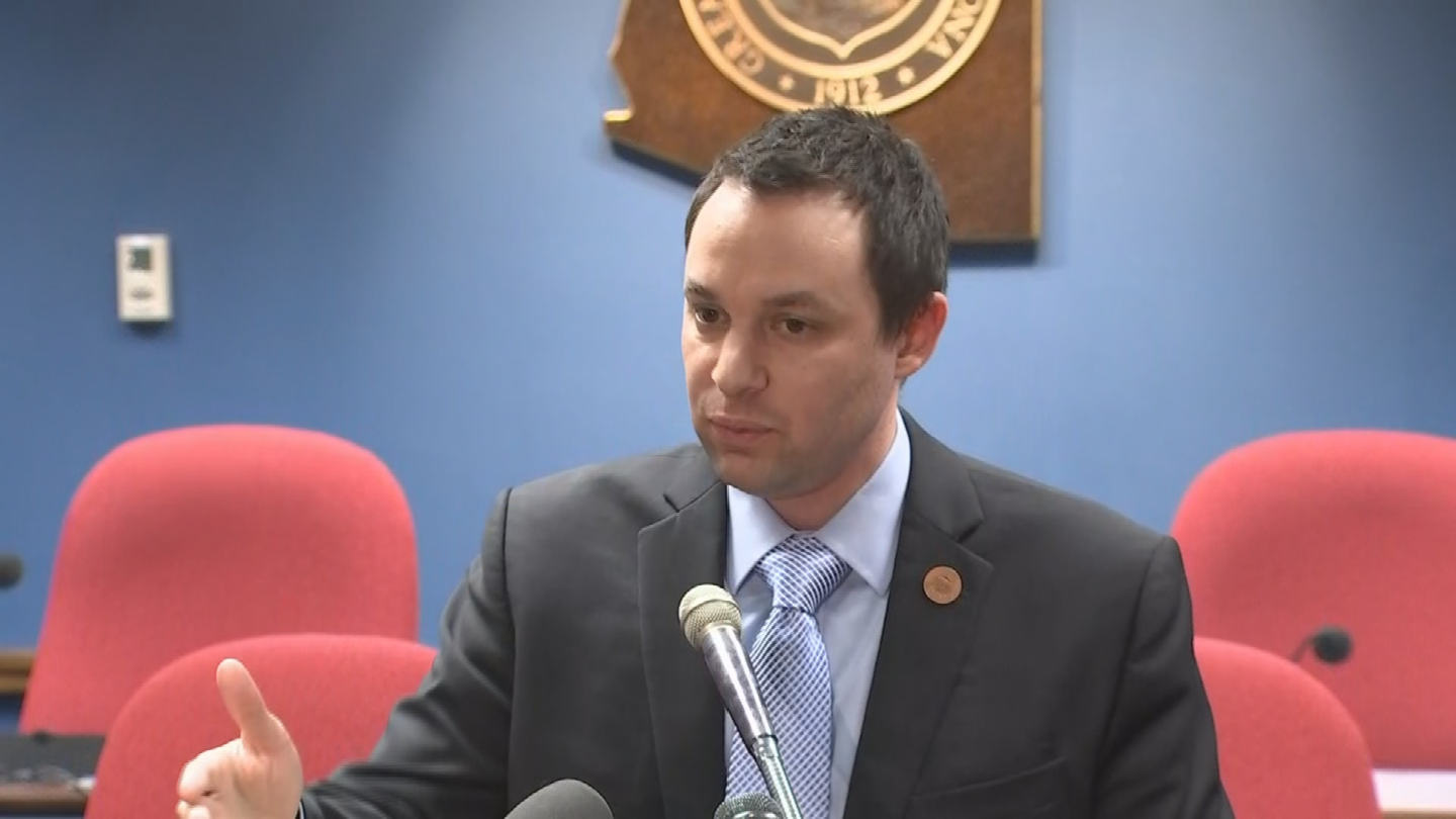 The move runs counter to GOP House Speaker J.D. Mesnard's call for a formal censure for Shooter's behavior but not an expulsion. (Source: 3TV/CBS 5)