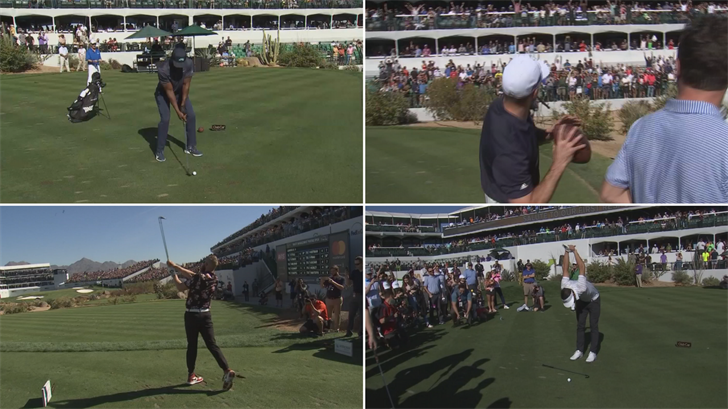 Different celebrities wowed the crowd at TPC Scottsdale. (Source: 3TV/CBS 5)