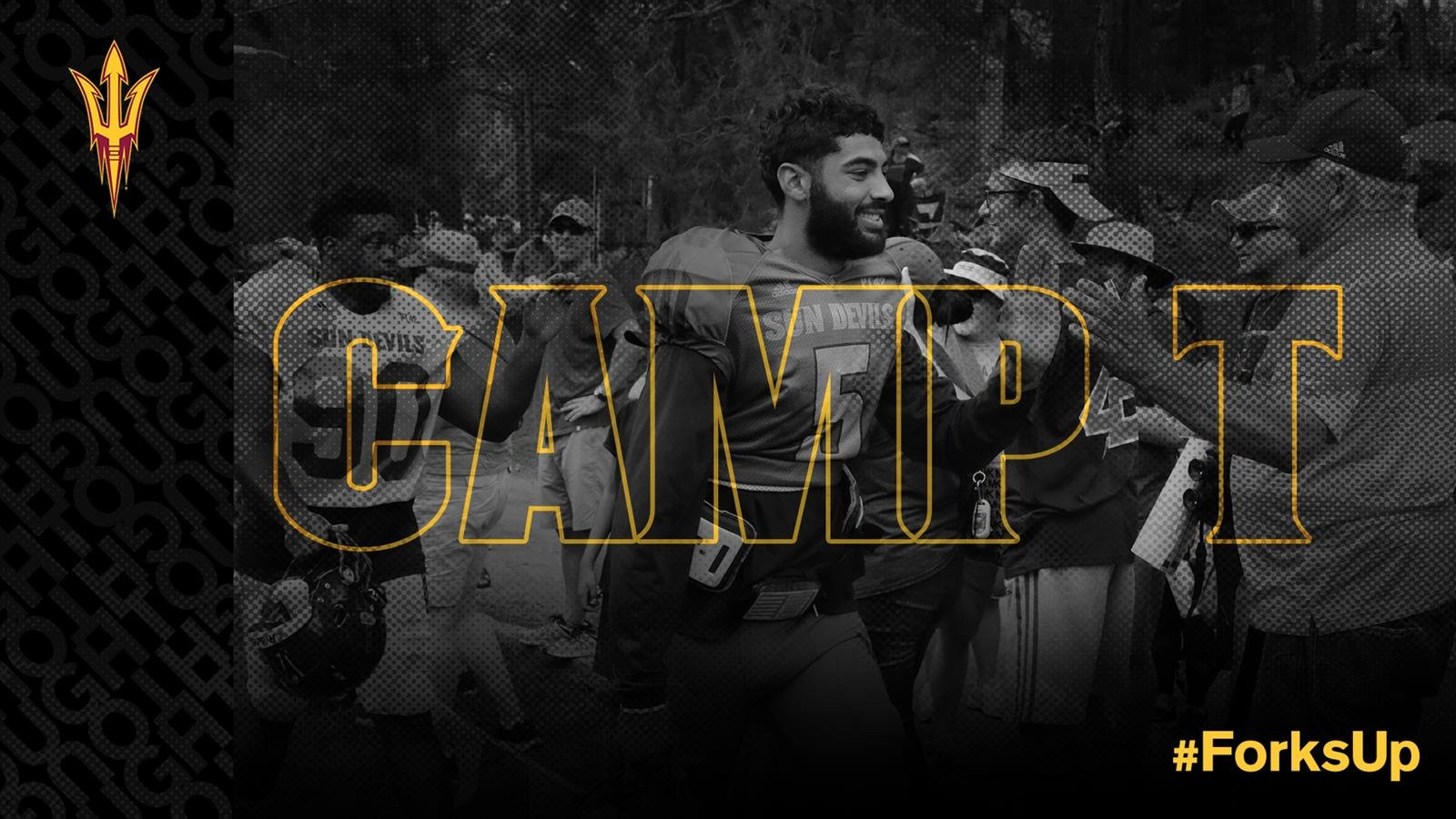 The Sun Devils will head to Camp Tontozona from Aug. 6-Aug. 11 (Source: ASU Athletics)