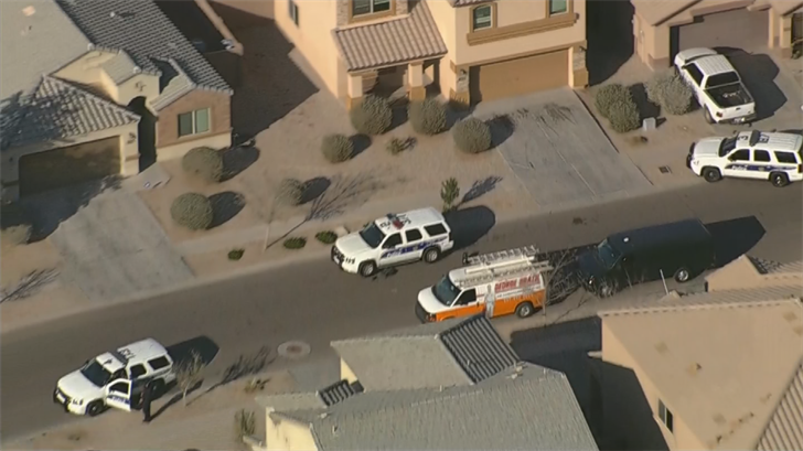 Police shot at a burglary suspect near 91st Avenue & Lower Buckeye Road. (Source: 3TV/CBS 5)
