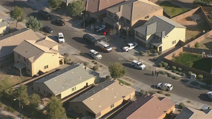 One of the suspects had a gun. (Source: 3TV/CBS 5)