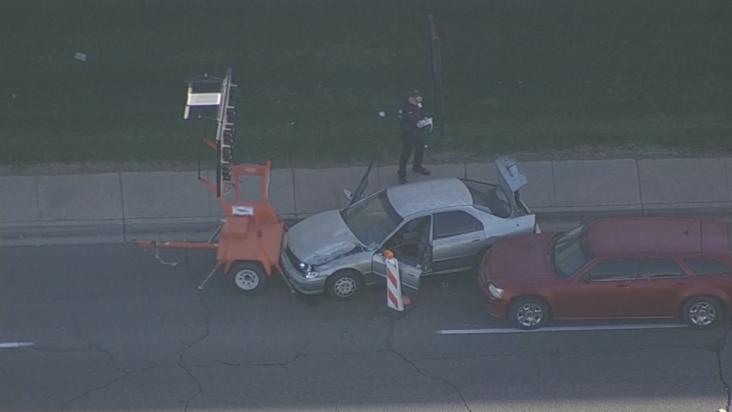 The second suspect was found near 50th Avenue and Van Buren Street. (Source: 3TV/CBS 5)