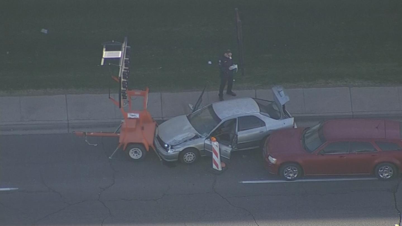 The second suspect was found near 50th Avenue and Van Buren Street. (Source: 3TV/CBS 5)