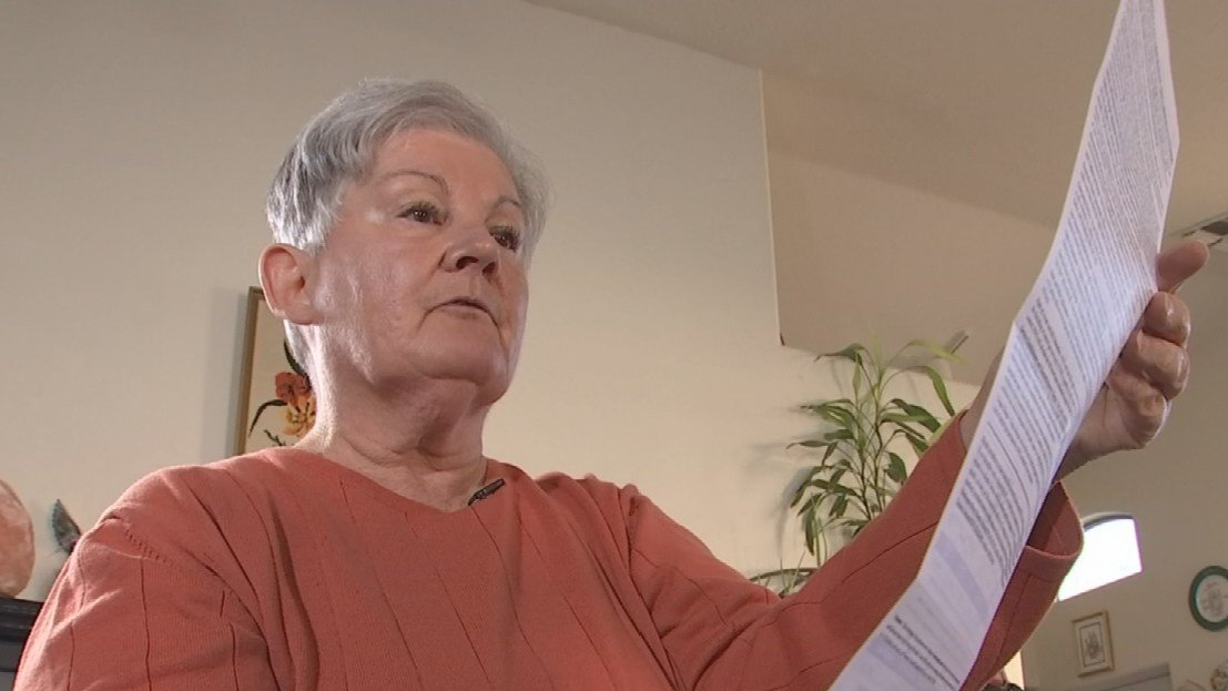 Marlene Shillington was shocked when she received her most recent gas bill from Southwest Gas. A bill she thought would be minimal since she rarely turned her heater on. (Source: 3TV/CBS 5)