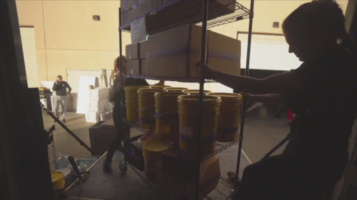 Any unused food is donated. (Source: 3TV/CBS 5)