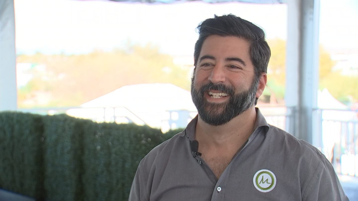 Michael Stavros says the Waste Management Phoenix Open is the biggest event he's ever worked on in his career. (Source: 3TV/CBS 5)