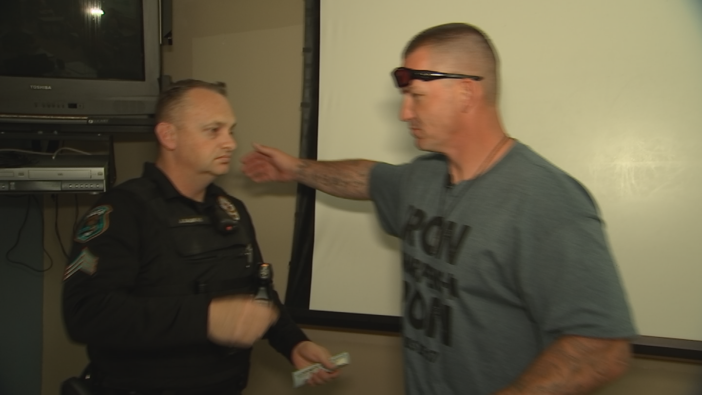 The impact Sgt. Jeff Daukus had can be felt from one neighborhood to the next.  No one knows that more that Robert Read, an ex-con who butted heads with Sgt. Daukus a couple years ago and it changed his life. (Source: 3TV/CBS 5)