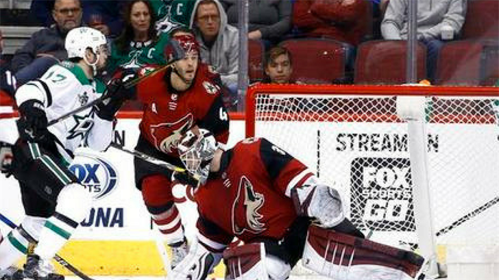 Stars storm previous Coyotes, Four-1