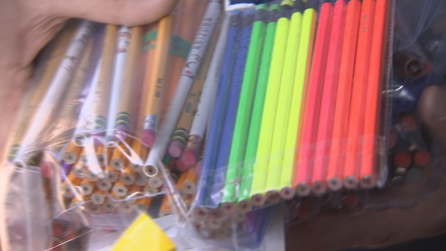 School supplies are headed to Puerto Rico