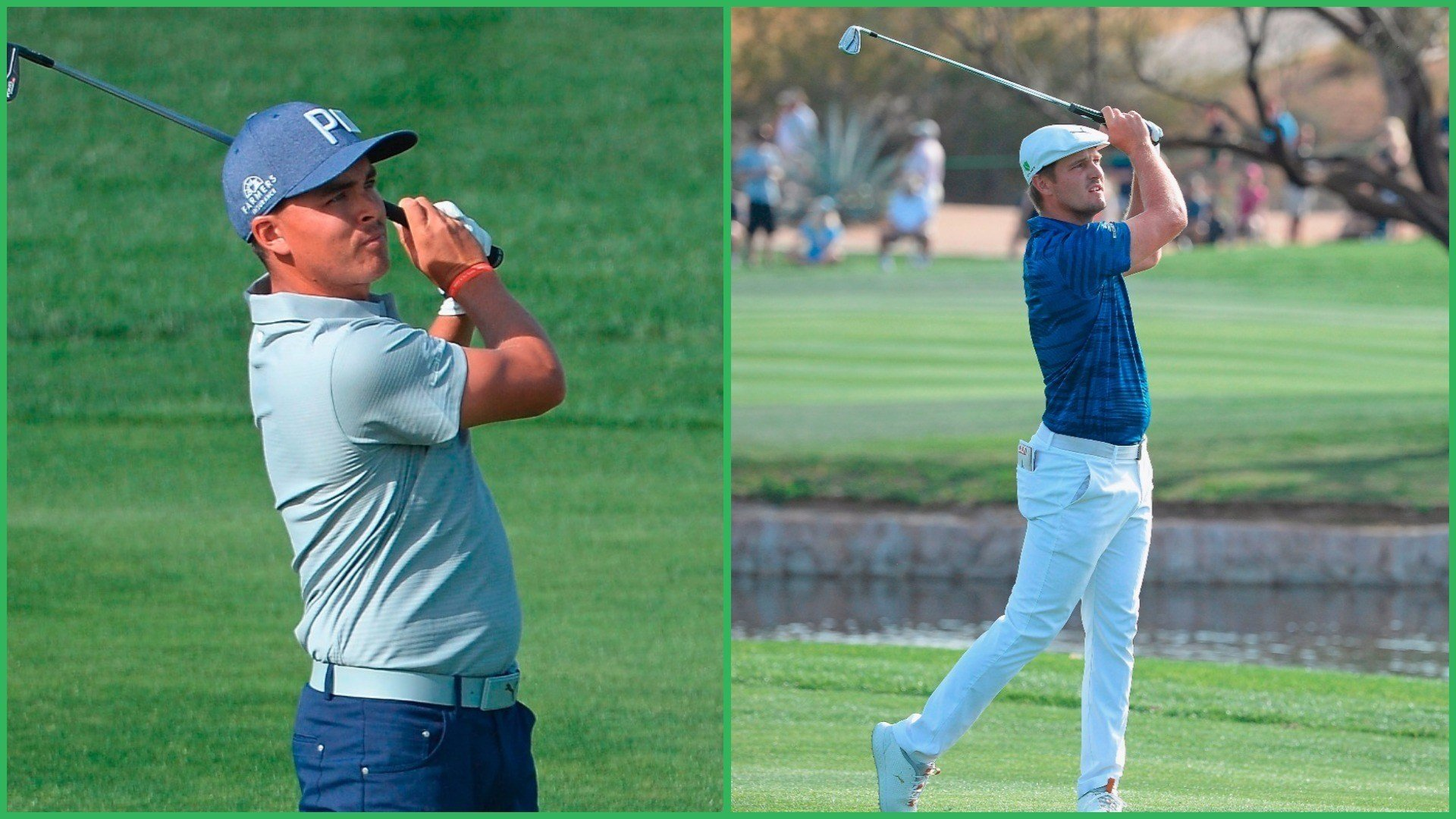 Rickie Fowler (left) and Bryson DeChambeau (Source: Robert Laberge/Getty Images)