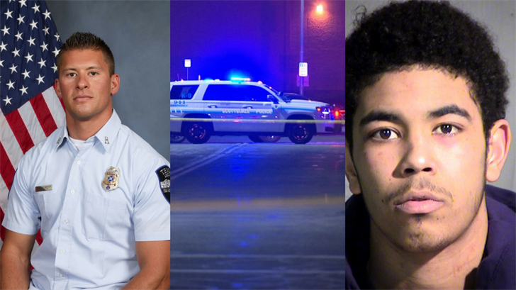Kyle Brayer, 34 (left); Hezron Parks, 21 (right) (Source: Tempe Fire Medical Rescue Department and Maricopa County Sheriff's Office)