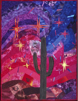 """Heat of the Night"" by Margit Kagerer, Carefree, Arizona. (Source: i.d.e.a. Museum)"