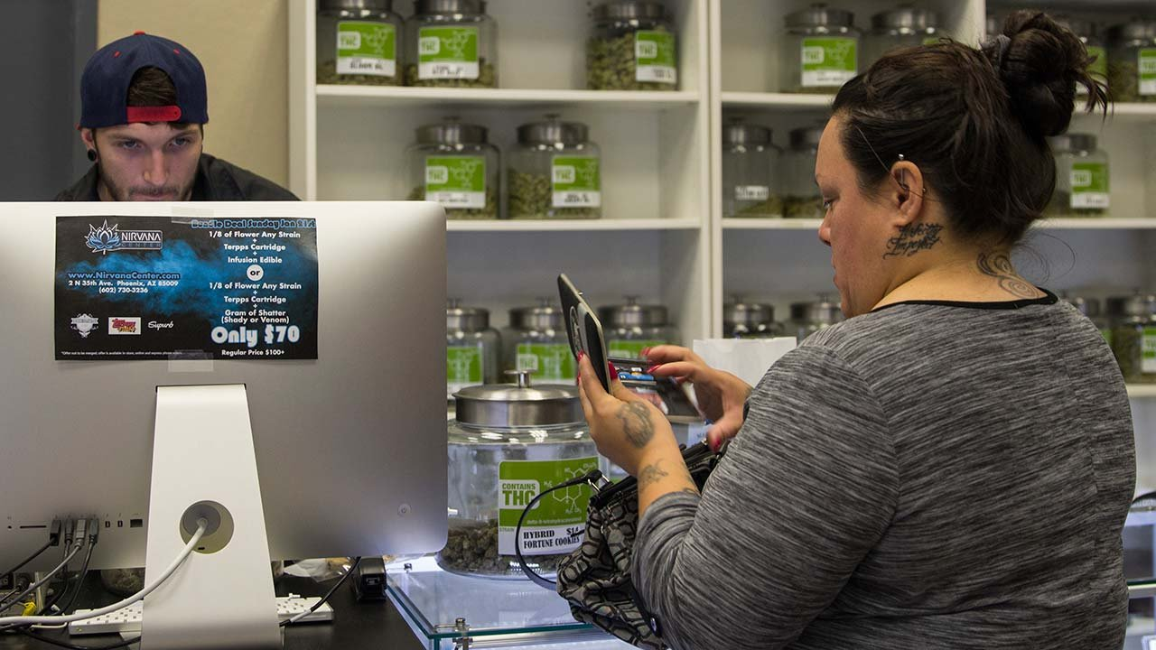 The medical-marijuana industry's marketing efforts have matured since Arizona voters legalized marijuana for medical use in 2010, industry experts said. (Source: Faith Miller/Cronkite News)