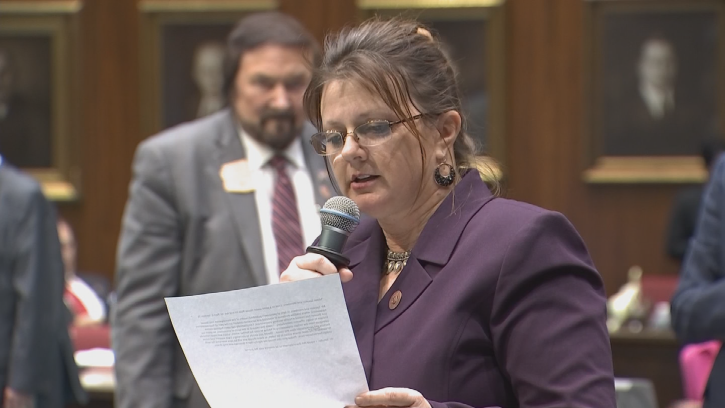 Rep. Kelly Townsend also wants a new law requiring harassment laws for members of the Legislature and a formal reporting process. (Source: 3TV/CBS 5)