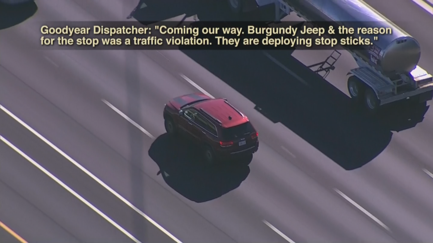 The communications between law enforcement and dispatch were released on Monday. (Source: 3TV/CBS 5)