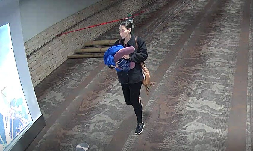 Investigators need help to identify this woman. (Source: Tucson Airport Authority PD)