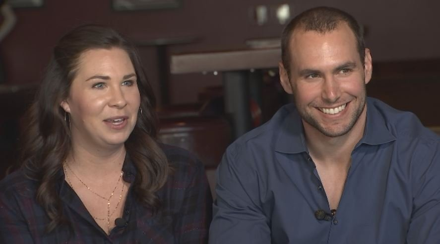 Amy and Paul Goldschmidt are teaming up to raise money for Phoenix Children's Hospital. (Source: 3TV/CBS 5)