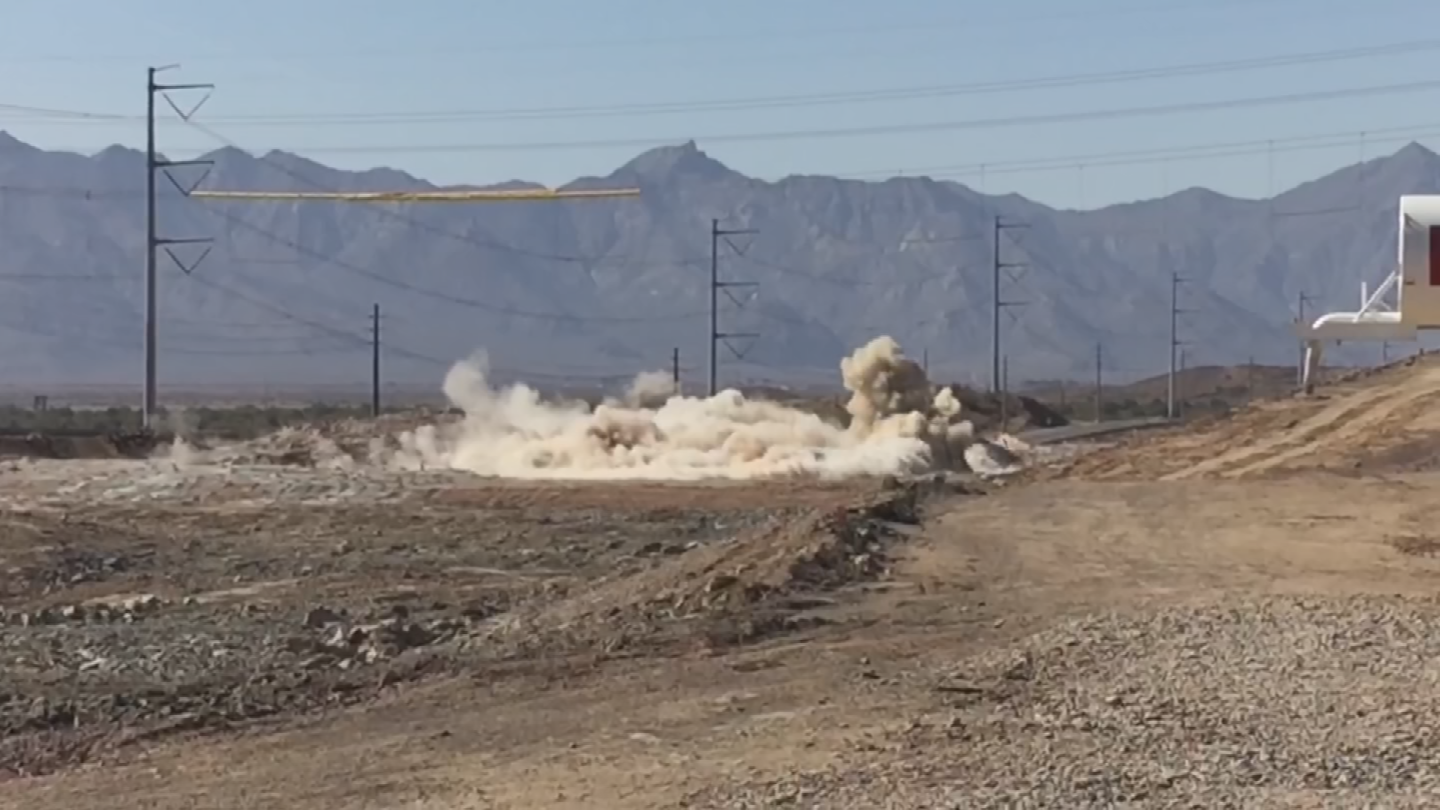 Homeowners in Ahwatukee said they are feeling the effects of construction blasting. (Source: 3TV/CBS 5)