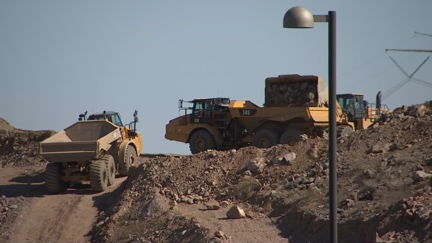 ADOT has told homeowners not to worry about possible damage to their homes. (Source: 3TV/CBS 5)