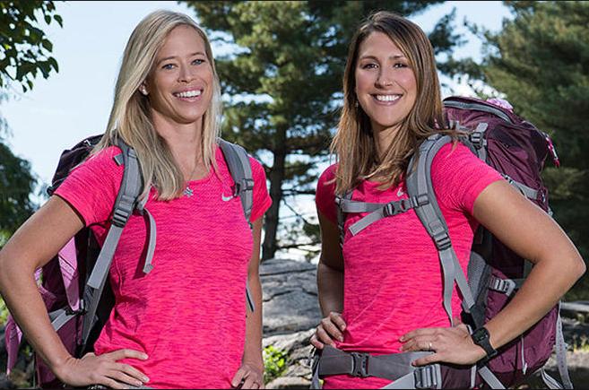 Kristi Leskinen of Scottsdale and Jen Hudak made up Team Extreme