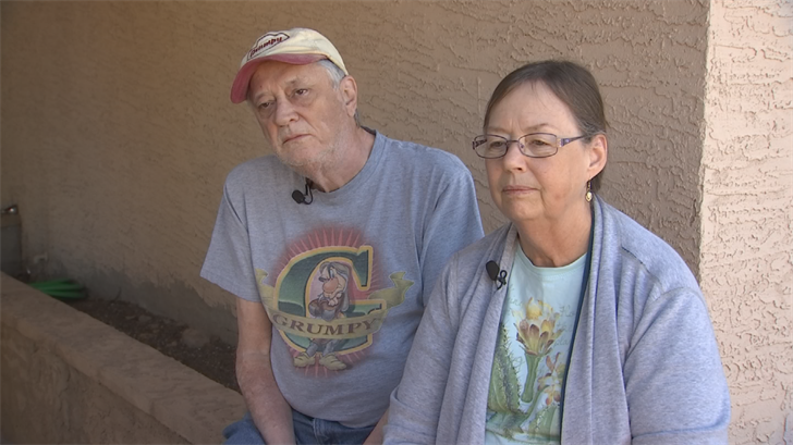 Diane and Kerry Carmichael are two-time lottery winners. (Source: 3TV/CBS 5)