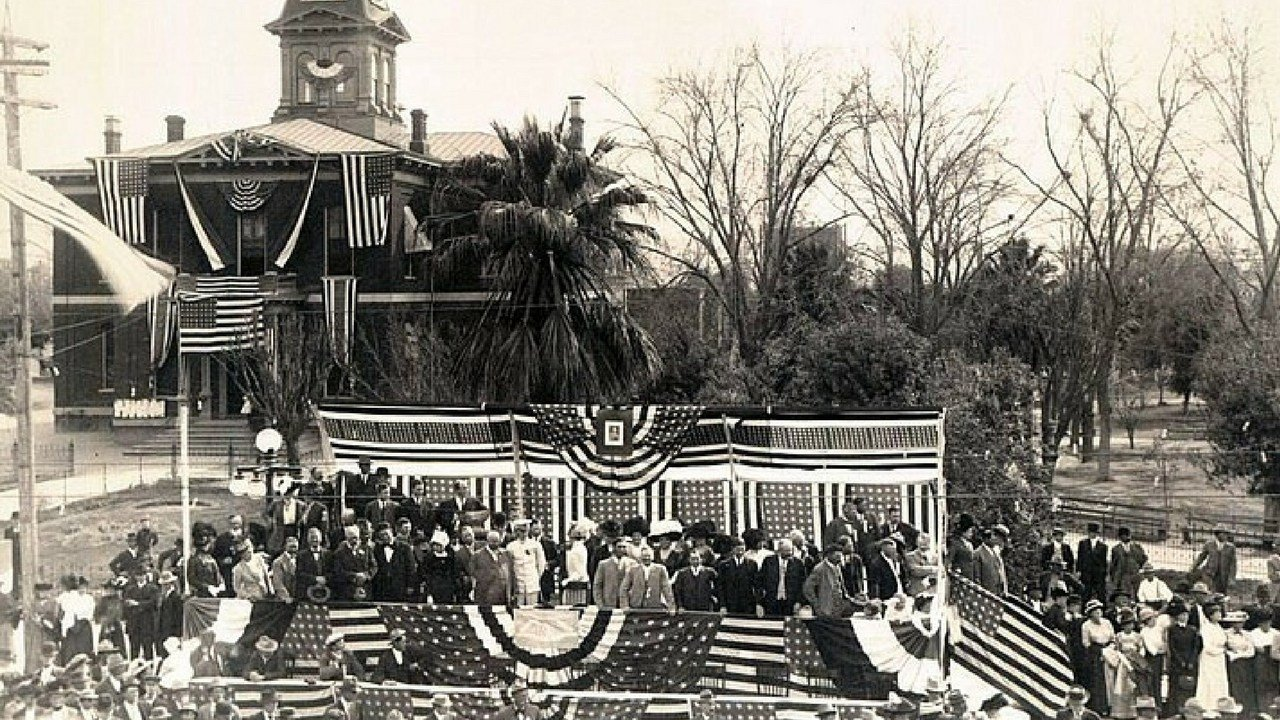 Celebrations in Phoenix after Arizona is made a state. 12 Feb. 1912 (Source: Arizona Historical Society)