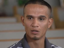 Jesus Berrones, who was brought to the U.S. as a toddler, has received sanctuary at a Phoenix church while fighting deportation.. (Source: CBS News)
