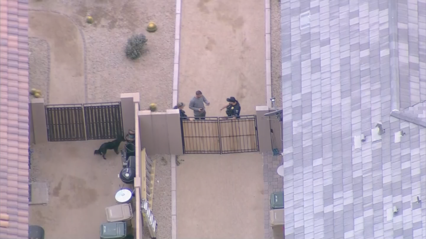Two officers were hurt during the investigation. (Source: 3TV/CBS 5)