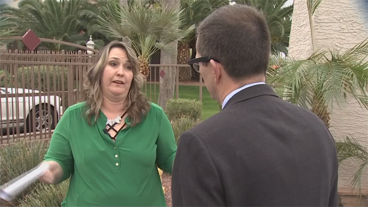 And like many teachers, Carrie Hare says it's unfair they should have their pay slashed when Diaz received a $12,000 performance bonus in December. (Source: 3TV/CBS 5)