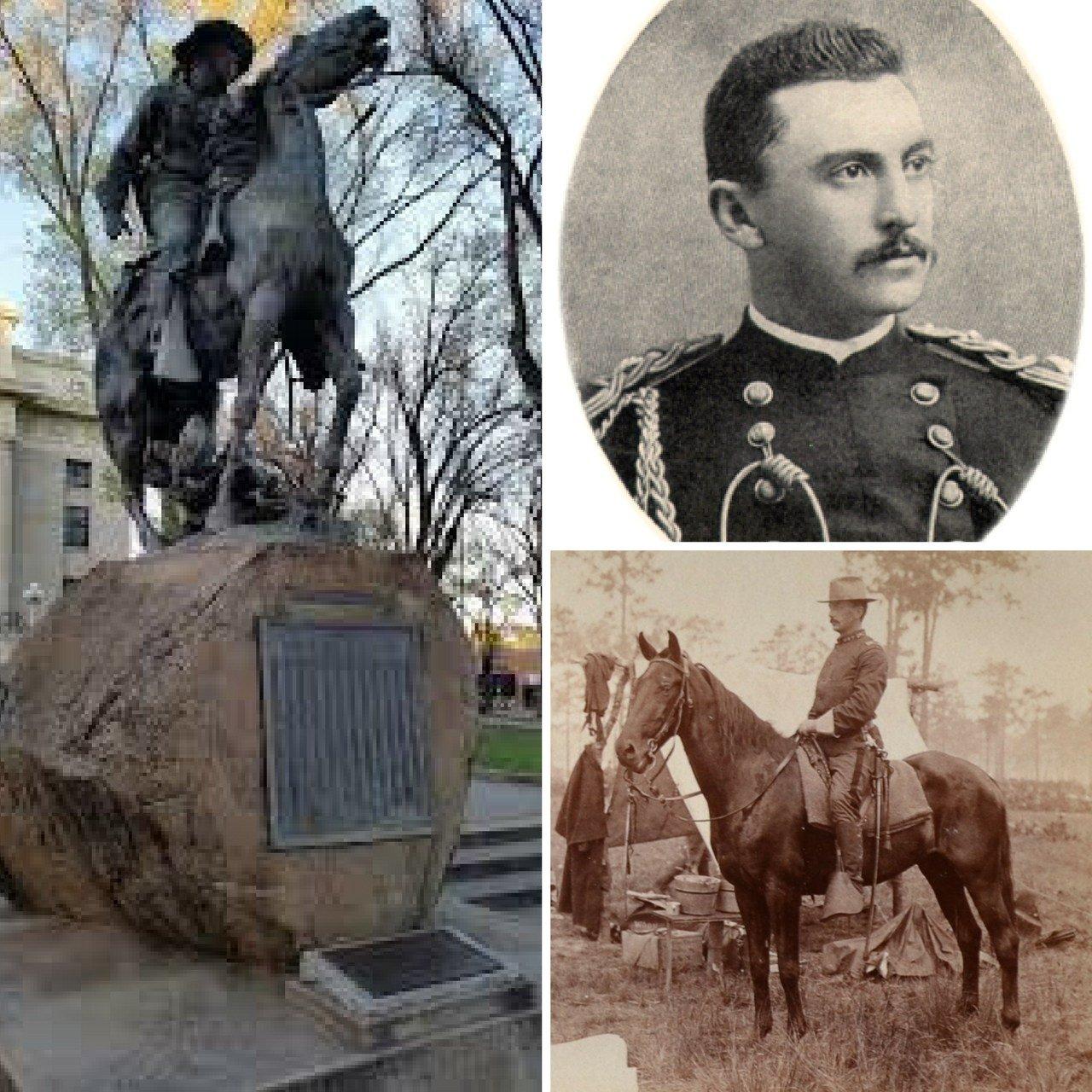Capt. Buckey O'Neill of the famed Rough Riders. (Source: Arizona Historical Society)