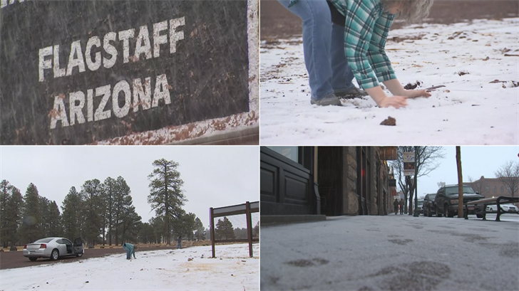 Flagstaff has been dealing with a horrible winter season with very little snowfall. Luckily, this week they are getting much-needed snow to help with their tourism. (Source: 3TV/CBS 5)